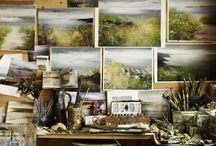 artists and their studios / by Emily Ankeney