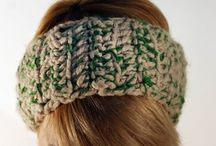 Headbands / Totally handmade crochet headbands 100% wool