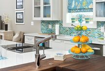 Kitchens with Color / colorful kitchen designs