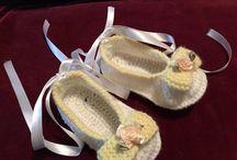 bebe zapatos tejidos