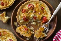 Savory Tarts - Recipes