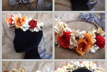 Lilly Dilly's Handmade Bespoke Flower Crowns / Handmade bespoke luxury artificial flower crowns created by Lilly Dilly's. available in adult and child versions x