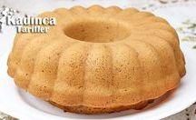Pasta ve kek tarifleri panosu