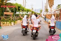 BEACHFLIRT / Come DRESSED IN WHITE to dance by the sea, under the stars, with global DJs and thousands of beautiful people having the holiday of their life!
