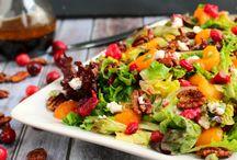 salads / by Sarah Harris