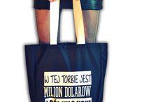 EKO TORBY / Oryginalne torby z przykuwającymi wzrok grafikami i zabawnymi napisami, które możesz projektować według własnego pomysłu!