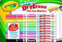 Dry erase board activities