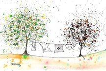illustrazioni primavera