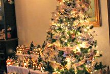 Árboles de navidad& pesebres