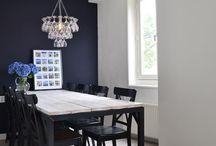 farbiges Wohnzimmer
