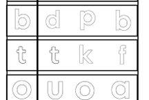 Letters oefenen