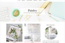 Je refais le design de mon blog ! / Des thèmes wordpress et des logos pour personnaliser son blog.