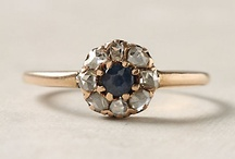 Something Borrowed, Something Blue  / Our favorite vintage jewelry with blue sparkles  / by Geolat and Associates