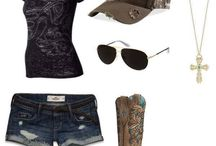 *Country Outfits* / Country outfits, and belt buckles