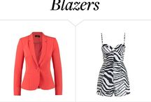 Outfits with Blazers / When in doubt, throw on a blazer. Below are tons of outfit ideas for you.
