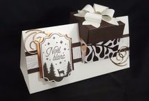 gift box in a card