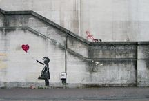 Banksy / birisi çizim mi dedi ?
