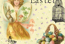 Easter(vintage illustrations and ideas) / by Stella Lucena