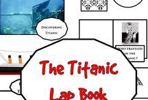 The Titanic Lap Book