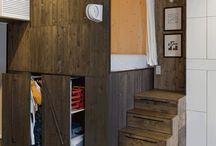 Kleine Wohnung-Design-Idee – Ermöglicht Die Speicherung Unter Erhaben Schlafzimmer
