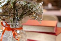 Our Wedding! / All the fun crafts from Laura and my wedding :-) / by Erin Walrath