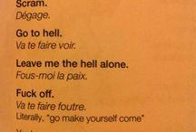 Le langue français