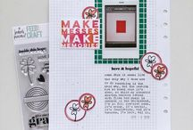 Extravagant Hope / projects with the Extravagant Hope stamp designed by Brandi Kincaid