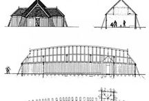 Viking longhouses & houses
