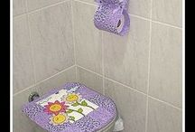 wc, koupelna, úklid