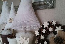 Christmas dekor, christmas three