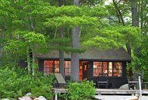 Dream Cabin / Cabanas de sonho, decoracão, arquitetura, etc