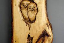 cuda w drewnie