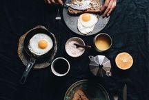 Стилизуем стол с завтраком