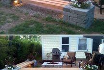 terasa,zahrada