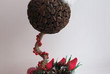 Топиарий. Из кофе