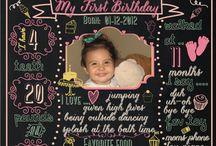 Tayas 1st birthday