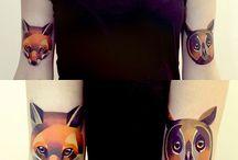 Tatuaże kolor