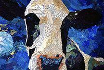 koeien en vogels