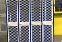 Weber Middle School - Port Washinton, NY #DeBourgh #Lockers / #AngleIron #SentryOneLatch #ExpandedMesh #5KnuckleHinge #WhiteHammer #BlueHammer #TwoToned #SlopeTop #RoyalBlue #SentryThreeLatch #DiamondPerforation #PianoHinge #DeBourgh #Lockers