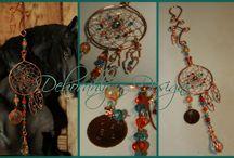 Dreamcatchers by Deborahlynn Designs / Dreamcatcher Suncatchers and Jewelry, by Deborahlynn Designs ® www. Rhythm-n-Beads.com https://www.etsy.com/shop/DeborahlynnDesignz