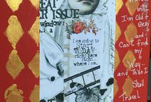 Journal Pages by Kim Collister