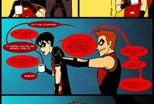Robin&KidFlash&Speedy