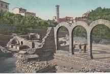 Vintage Postcards - Italy / Bordighera, Bussana Vecchia, Dolceacqua, Fiesole