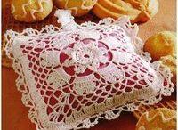 Crochet - almofadas