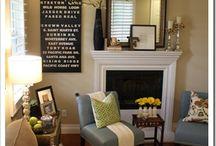 neutral livingroom / by Mama Bear