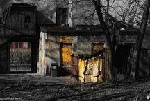 Łódź - Poland / Nostalgiczna wędrówka po dawno zapomnianych miejscach, które jeszcze przez chwilę istnieją... Ale także tych, które ciągle świecą przepięknie malowniczym blaskiem!