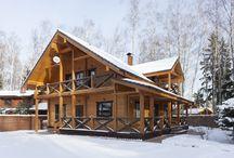 деревянный дом / экстерьер