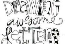 lettering / by Polly Jones