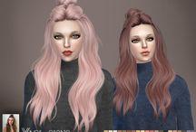 Cabelos Sims 4
