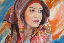 Sardinian girl paintings / Paintings with sardinian traditional costumes. Thank you for visiting!